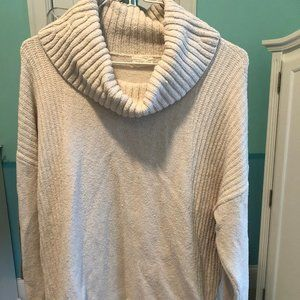 Caslon cream cowl neck sweater